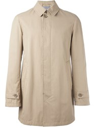 Herno Buttoned Coat Nude And Neutrals