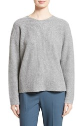 Theory Women's Twylina Split Back Cashmere Sweater Husky