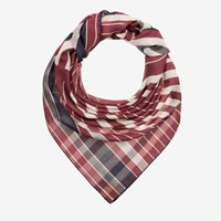 Bally Mirrored B Modal Scarf Brown