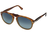 Persol 0Po0649 Tortoise Orange Blue Gradient Polarized Fashion Sunglasses