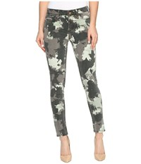 Calvin Klein Jeans Abstract Camo Ankle Skinny Pants Sage Women's Casual Pants Green