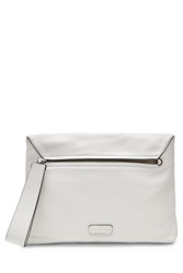 Marc By Marc Jacobs Shifter Leather Clutch White