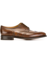 John Lobb 'Haylex' Brogues Brown