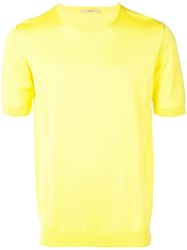 Nuur Fine Knit T Shirt Yellow