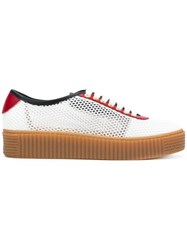 Tommy Hilfiger Mesh Sneakers White