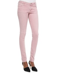 Iro Narkyce Fitted Denim Slim Jeans Old Pink