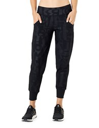 Mpg Solution Jogger Pants Typo Black