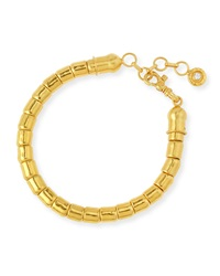 Vertigo 24K Gold Single Strand Bracelet Gurhan