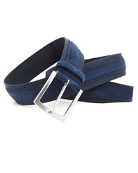 Menlook Label Elliot Navy Navy Belt
