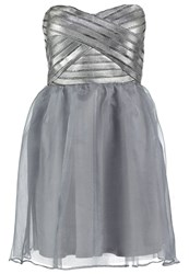 Lipsy Ariana Grande For Lipsy Cocktail Dress Party Dress Silver