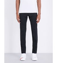 Dsquared2 Admiral Tapered Stretch Wool Trousers Black