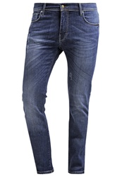 J. Lindeberg J.Lindeberg Damien Creek Slim Fit Jeans Mid Blue Blue Denim
