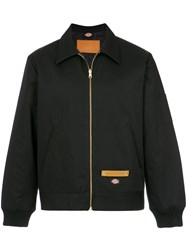 A La Garconne Reversible Bomber Jacket Cotton Polyester Black