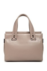 Time's Arrow Rampling Leather Satchel Pink