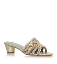 Gina Galaxy Sandals 35 Female Gold