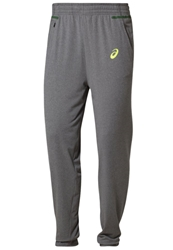 Asics Tracksuit Bottoms Dark Grey Heather