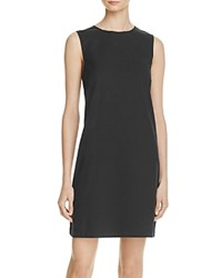 Theory Keshelle Laced Back Dress 100 Bloomingdale's Exclusive Black