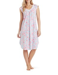 Carole Hochman Floral Ballet Long Gown Pink