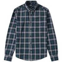 Woolrich Archive Flannel Shirt Green