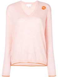 Lala Berlin Nico Sweater Cashmere Pink Purple