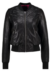 Freaky Nation Harlem Leather Jacket Black