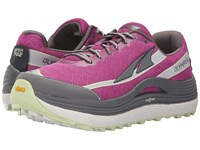 Altra Zero Drop Footwear Olympus 2 Orchid Gray Women's Running Shoes Pink
