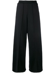 Golden Goose Deluxe Brand Wide Leg Long Trousers Women Cotton Polyamide Viscose S Black