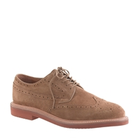 J.Crew Kenton Suede Wing Tips Sahara