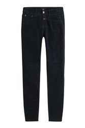 Closed Velvet Skinny Jeans Blue