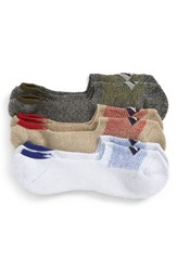 Sperry Assorted 3 Pack Liner Socks Grey Marl Assorted