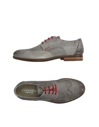 Cafe'noir Cafenoir Footwear Lace Up Shoes Men Light Grey