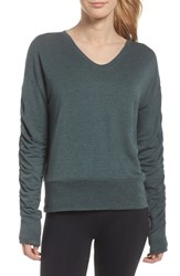 Zella Pop On Sweatshirt Grey Urban Heather