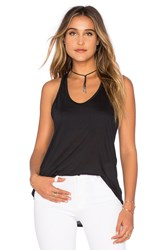 Twenty The Perfect Racerback Tank Black