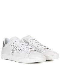 Tod's Leather Sneakers White