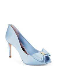 Ted Baker Alifair Bow Pumps Light Blue