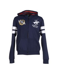 Beverly Hills Polo Club Topwear Sweatshirts Men Dark Blue