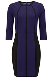 Almost Famous Panel Dress Purple