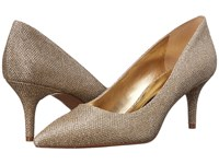 Nine West Margot Gold Sparkle High Heels