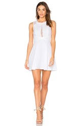 Bcbgeneration Fit And Flare Dress White
