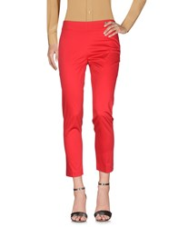 Lafty Lie Casual Pants Red