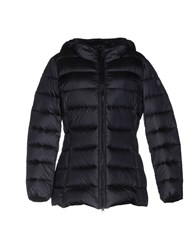 Adhoc Down Jackets Dark Blue
