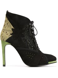 Preen By Thornton Bregazzi 'Shelley' Booties Black