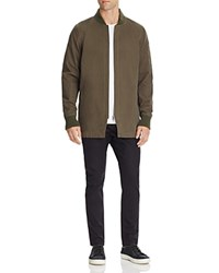 Zanerobe Tion Elongated Bomber Jacket Olive
