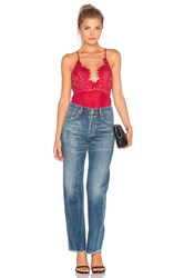 The Jetset Diaries Dulce Bodysuit Red