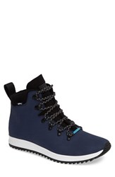 Native Men's Shoes Apex Water Resistant Boot Regatta Blue Shell White