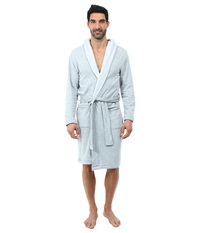 Ugg Alsten Robe Seal Heather Men's Robe White