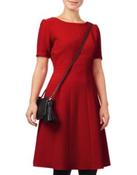 Phase Eight Bronwyn Fit And Flare Dress Red
