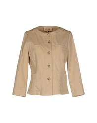 Alviero Martini 1A Classe Coats And Jackets Jackets Women Sand