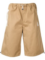 Lc23 Toggle Fastened Shorts Neutrals