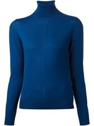 Nina Ricci Roll Neck Sweater Blue